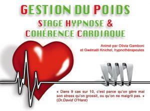 Gestion du poids, stage Hypnose et Cohérence Cardiaque – 28/29 mars 2020 à Payerne (Suisse)