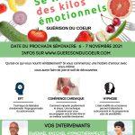 Se libérer des kilos émotionnels – Séminaire – 6/7 novembre 2021 à Estavayer-le-Lac (Suisse)